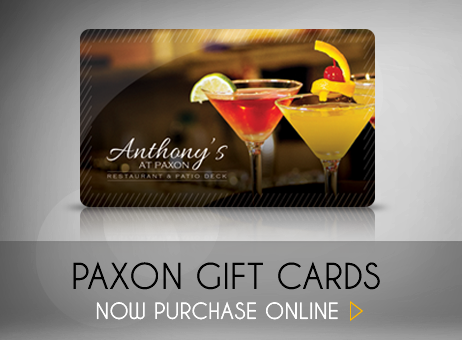 Anthony's At Paxon Gift Cards